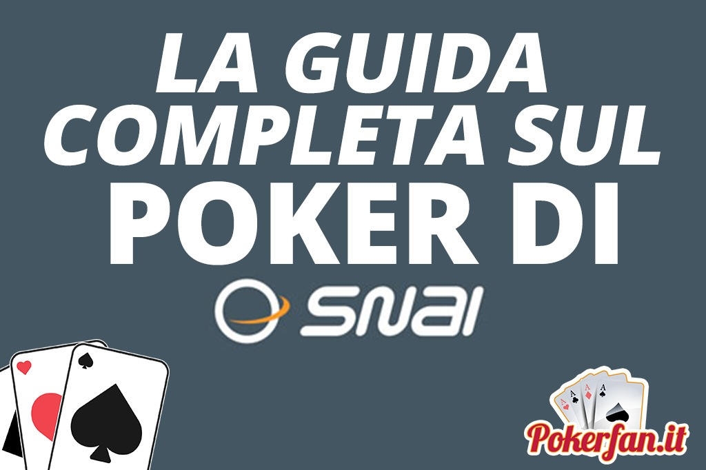 Foto Poker Snai Guida