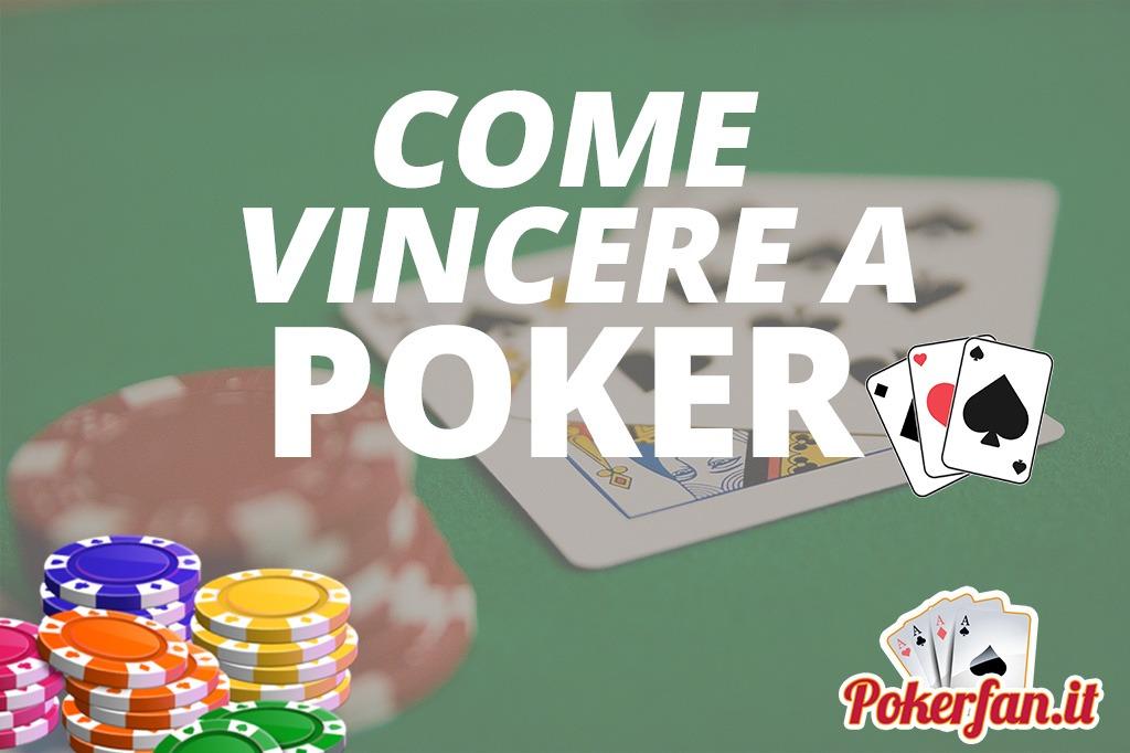 Foto come vincere a poker